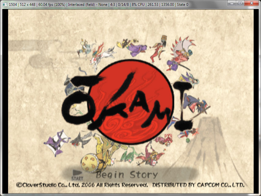 Okami Online > Misc > How to emulate Okami using PCSX2